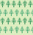 pixel trees pattern vector image