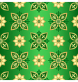 Seamless dark green gradient pattern vector image