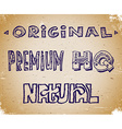 Set of lettering sketches vector image