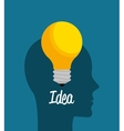 Creatives ideas graphic vector image