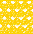 polka dot pattern seamless background vector image