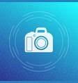 dslr camera icon vector image