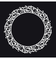 Round frame vector image