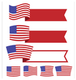 Banner American Independence Day1 vector image
