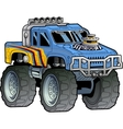 Monster Truck vector image