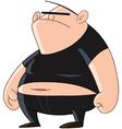 bully man vector image