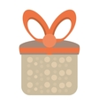 colored gift box cute present party vector image