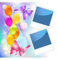 birthday frames vector image vector image