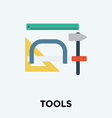 Drafting Tools Icon vector image