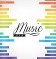 music lifestyle design vector image