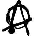 anarchy vector image
