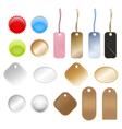 retail tags vector image