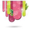 nature stripes vector image vector image