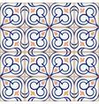 Samless pattern Moroccan Portuguese tiles vector image