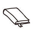 notebook doodle cartoon vector image