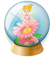 Fairy Crystal Ball vector image vector image