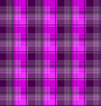 Magenta tartan plaid backgroun vector image