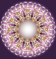 background with the terms of pearls vector image