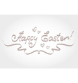 HAPPY EASTER vector image