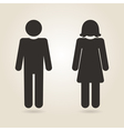 icon gender differences vector image