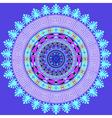 Mandala decoration design element vector image
