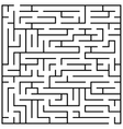 Maze puzzle labyrinth brain teaser kids game vector image