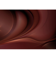 Chocolate abstract vector image vector image