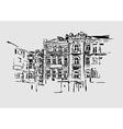 Kiev historical building vector image