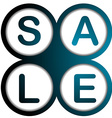 Sale poster vector image vector image