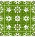 Christmas seamless pattern of heart view vector image