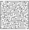 Maze puzzle labyrinth brain teaser kids game vector image