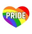 gay pride LGBT rights card vector image