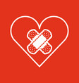 donation blood design vector image