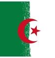 Grunge Algeria Flag vector image