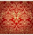 Damask Vintage Floral Seamless Pattern Background vector image