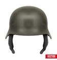 German Army helmet vector image