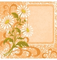 Flower holiday background vector image vector image