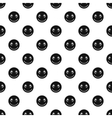 Smiley face pattern simple style vector image