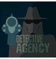 Detective agency vector image