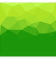 Green polygon abstrac vector image