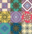Floral Tiled Background vector image