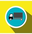 truck cargo delivery goods vector image