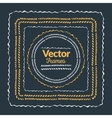 Color hand drawn frames set Isolated frame vector image vector image