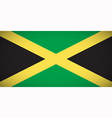 National flag of Jamaica vector image
