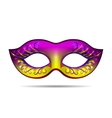 Carnival mask for masquerade costume vector image vector image