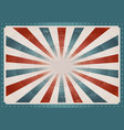 vintage american background vector image