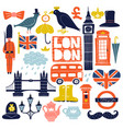 london landmarks set vector image
