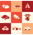 cars logo icons vector image