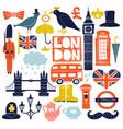 london landmarks set vector image