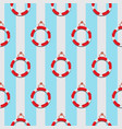 life ring seamless pattern vector image